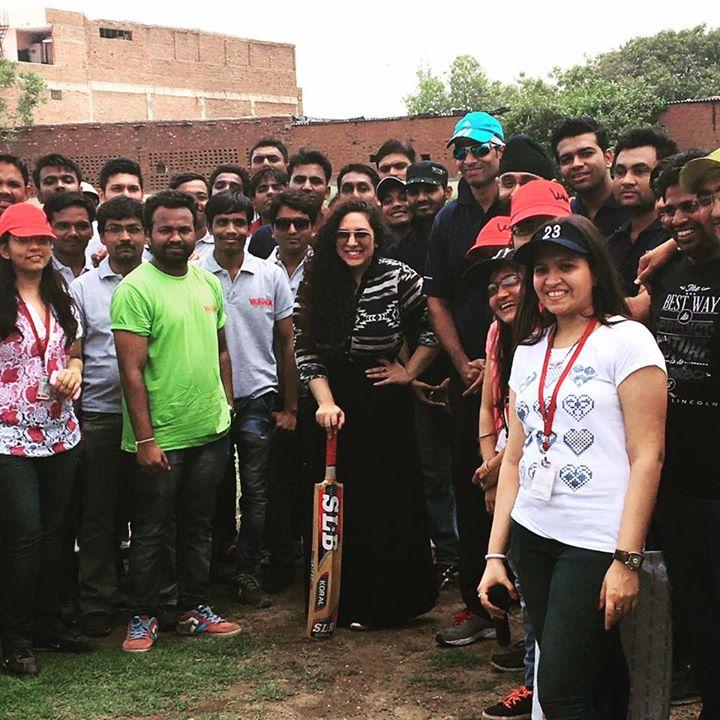 One Peppy Morning With Team Varuna Pumps at Veer Savarkar Sports Complex ...  #Treeidiots