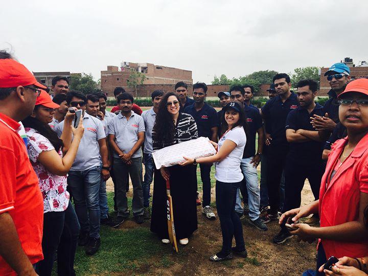 Morning With Team Varuna Pumps at Veer Savarkar Sports Complex ... #Treeidiots