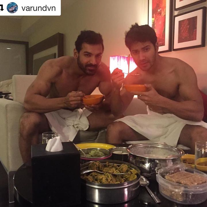#Repost @varundvn with @repostapp ・・・ 2 days to go for Dishoom. Breakfast for the boys in Amdavad