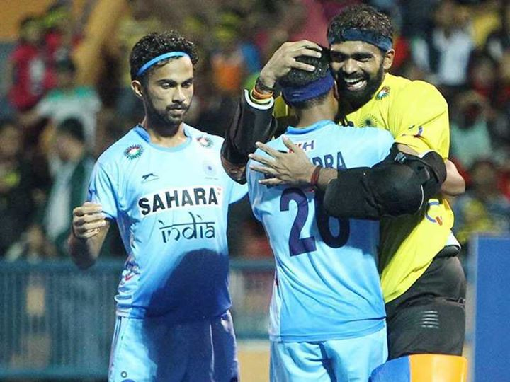 Watta Diwali Gift !!  Five years after they won their maiden title in 2011 beating Pakistan, India reclaimed the crown beating the same opponent Pakistan 3-2 in Kuantan, Malaysia to win 2016 men's hockey Asian Champions Trophy today :)