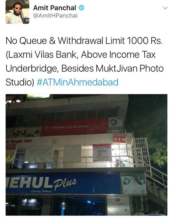 Amitbhai ! Thank you for sharing this info, To all the Facebook members here, please do share if any #atminahmedabad info you have in the inbox. Thank you 🙏🏼😇