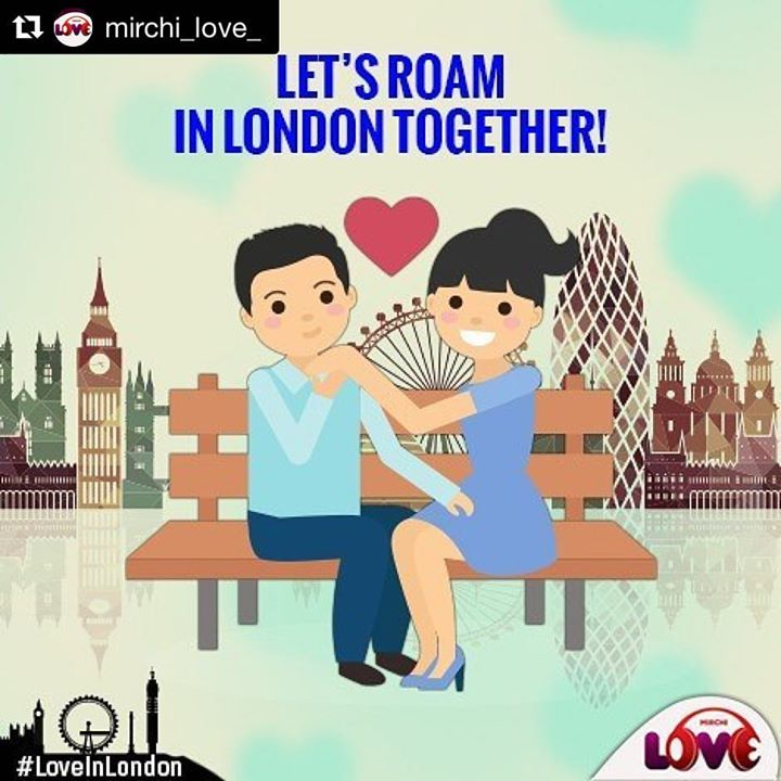 You can now get a chance to roam on the streets of London with your loved one just by tuning in to our channel. #LoveInLondon