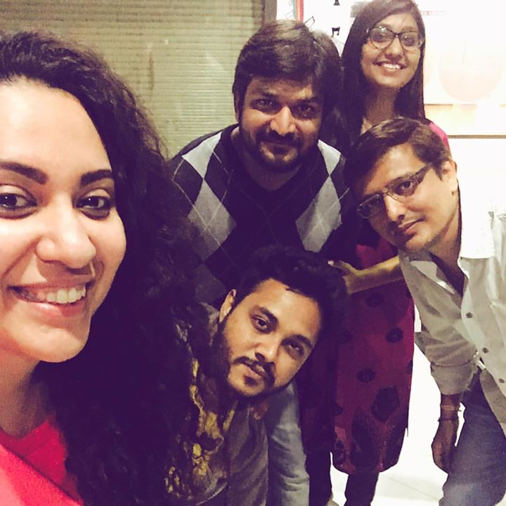 With The Gang to watch @rj_ruhaan perform
