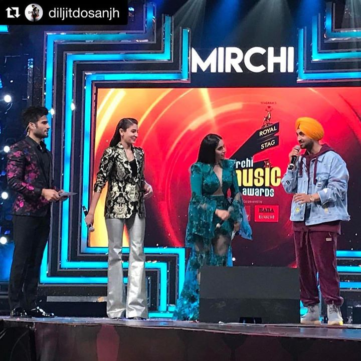 #Repost @diljitdosanjh with @repostapp ・・・ #Mirchimusicawards #Phillauri MARCH 24th 😊🙏