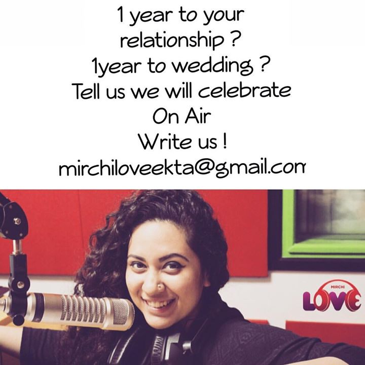 Any-Versary ! Everyday ! On My Show !  Mail the details and We Celebrate it On Air