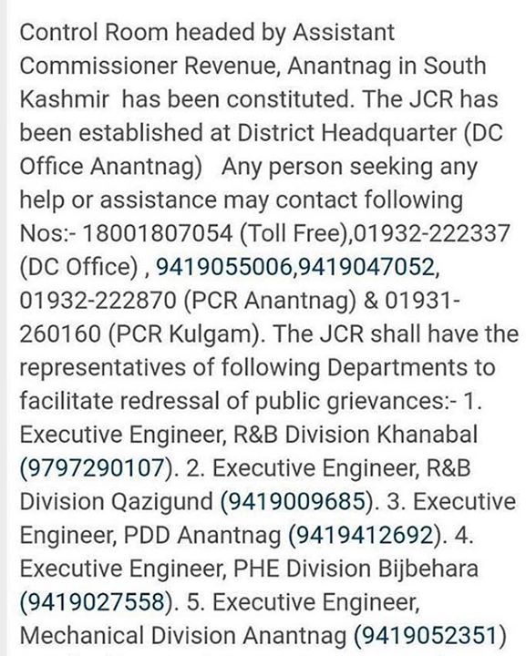 #Repost @amithpanchal ・・・ AmarnathTerrorAttack helpline numbers are as below for assistance! 18001807054 (TollFree) Please Share & Spread the word! Via @iamammarr #AmarnathYatra