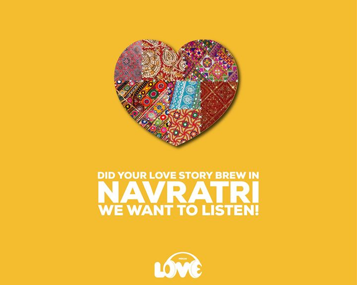 Navratri is around the corner, and we've got something special planned for you. If your love story began during this festival, inbox us asap for a chance to be featured on Mirchi LOVE 104 😍♥️💃🏻