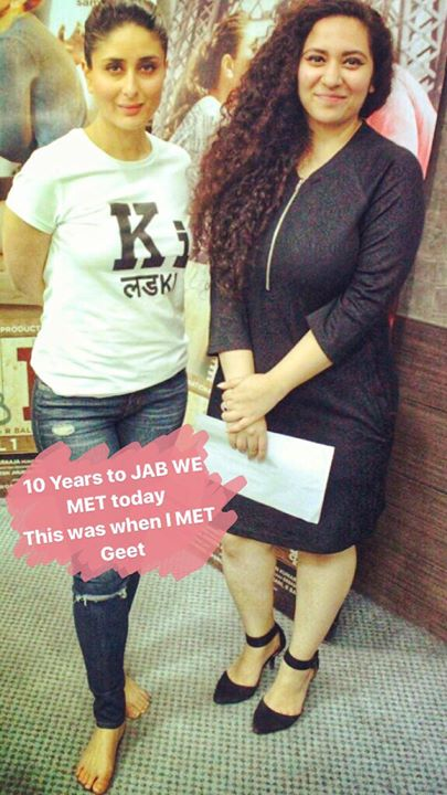#throwback #jabwemet 10 years to Jab We Met movie