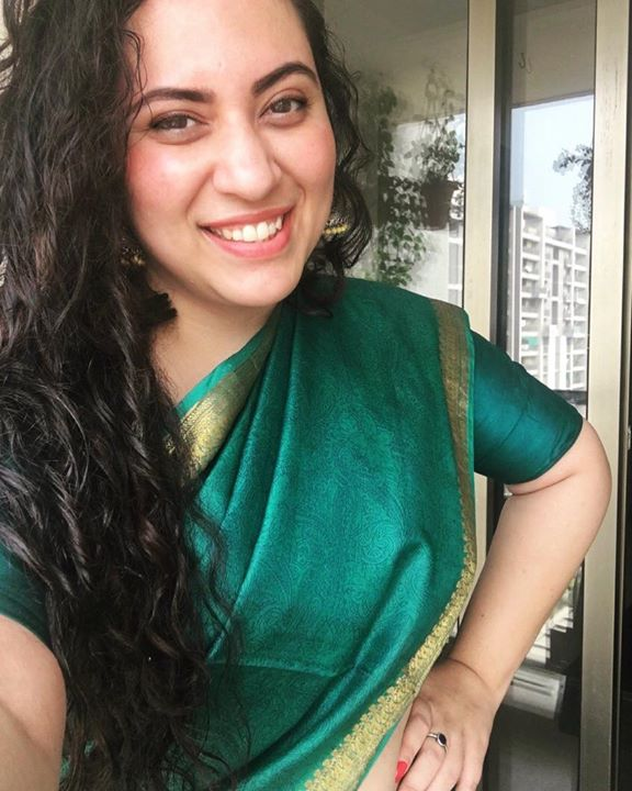 Nothing More Cool than a Simple Saree !  Loving the Drapes these days 🤩 #saree