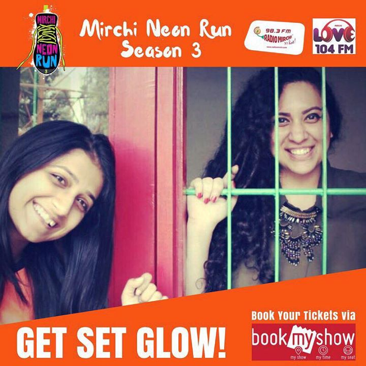 Super Duper Excited to have Aarohi in Team Ekta   Gearing up for #mirchineonrun season 3 on 7th Jan 2018  Get your gang registered on Book My Show for Ahmedabad's Only Night Run with Mirchi Team, Celebs, Music, Dance, Party and Fun !