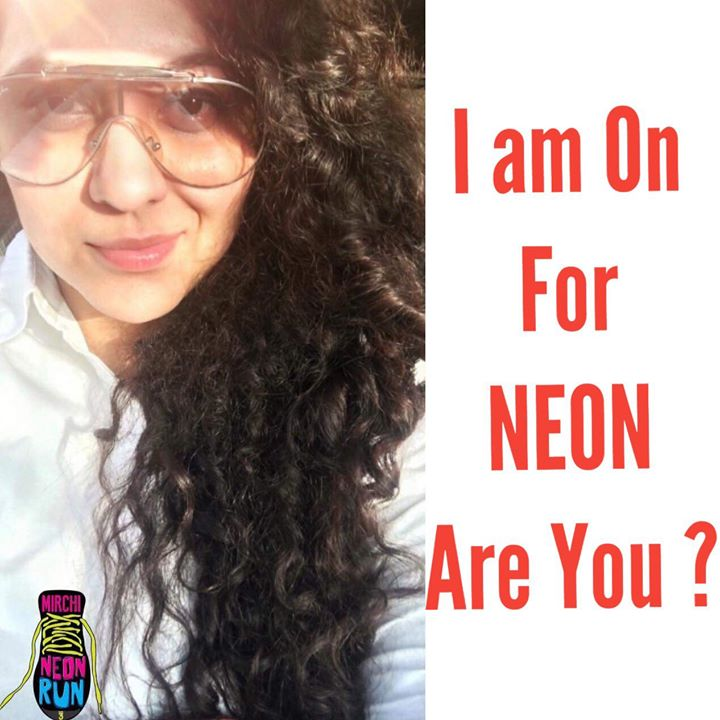 Trying out the new Facebook story Filter !  I have the new Mirchi Neon Shoe  But you can flaunt any of your cool shoes at Mirchi Neon Run Season 3  7th Jan Sunday Clubo7  Go to Book My Show & Get your tickets booked