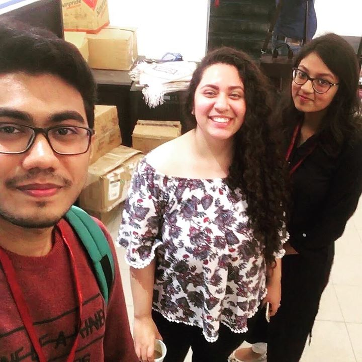 Priyesh & Tvisha From LM pharmacy college Ahmedabad did a quick  Q&A session, where I shared things about Radio, Life, Love and More 🙂   Here's the link  https://youtu.be/uzbgk7X_w-s  Adding it to bio ♥️ #ahmedabad #love