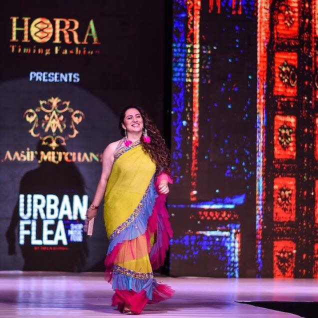 So this happened!!  Yours Truly was the Showstopper for the awesome @horratimingfashion at the Fabulous @asifmerchant Fashion Show tonight at @urban_flea   #love