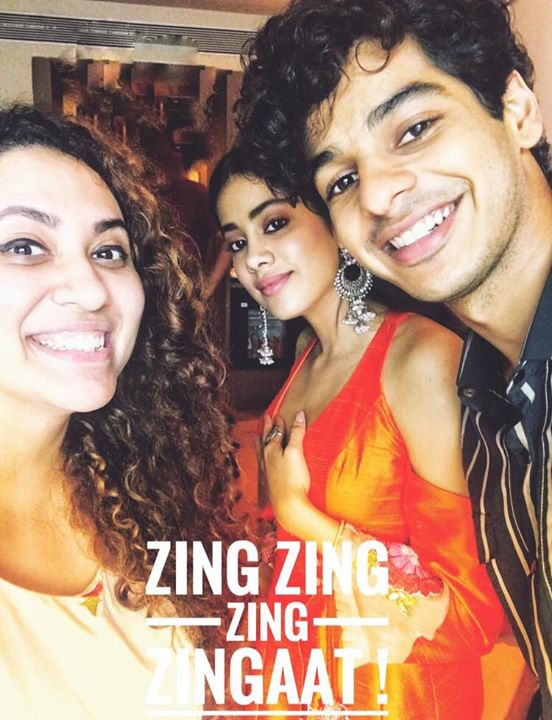 And we had a Zingaaat Conversation with the amazing Ishan & Jahnvi in Amdavad