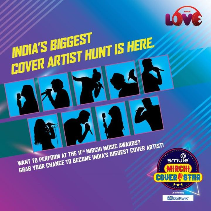 Ever dreamt of performing for your favourite singers? Make it come true with #MirchiSmuleCoverStars! #IndiasBiggestCoverArtist @Mobikwik @officialSmuleIndia