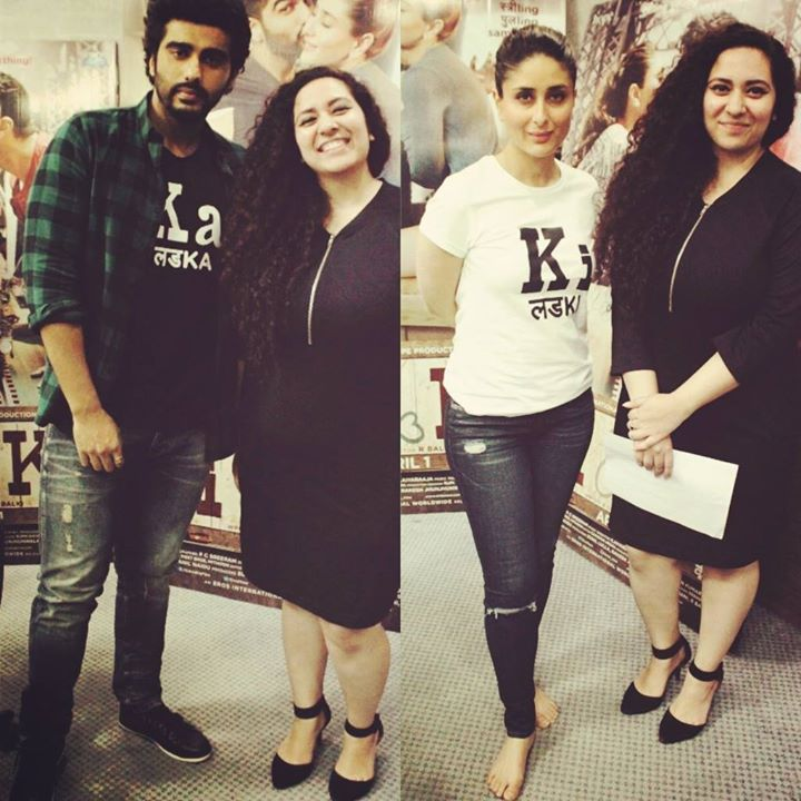 So this happened... An interaction with Ki & Ka in Amdavad. #kiandka