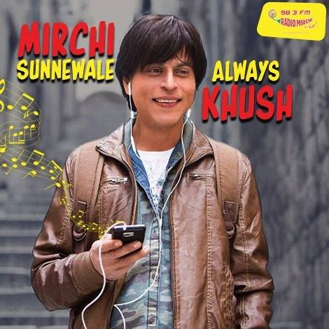 So Saras :) #myfanstory coming up on Radio Mirchi 98.3 FM in few minutes... #fan