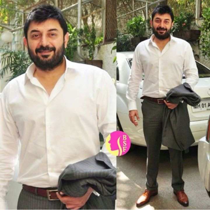 Absolutely A Throwback Thursday conversation with Arvind Swamy who is back with a film #deardad after 15 years. Today with yours truly Meethi Mirchi Ekta !  P.S. - Also Mango Ya Thango contests for you. 2pm-5pm on Radio Mirchi 98.3FM its Hot :)