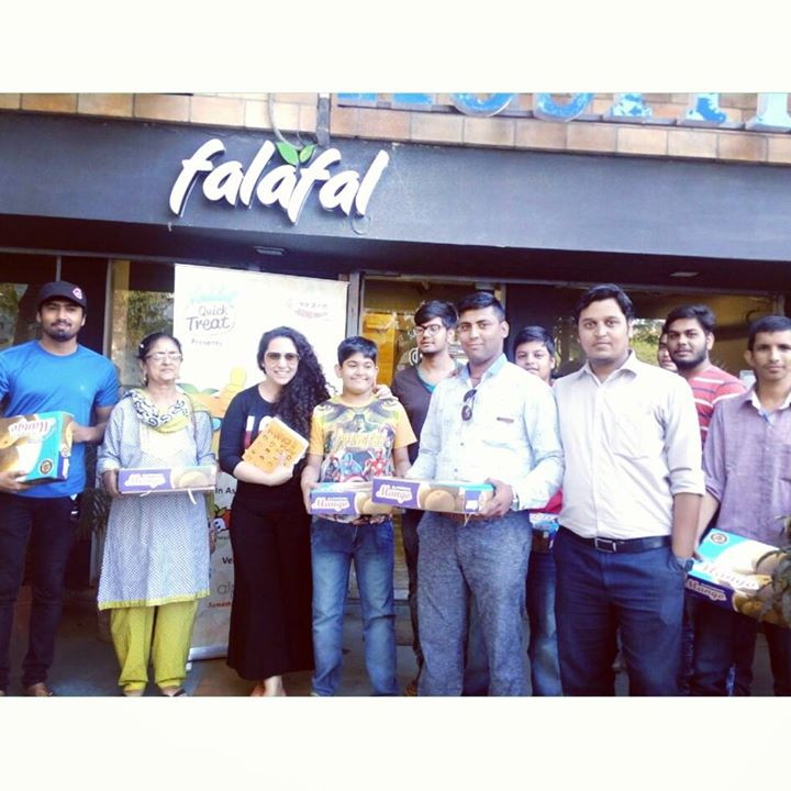 Mango Ya Thango session yesterday at @falafalindia