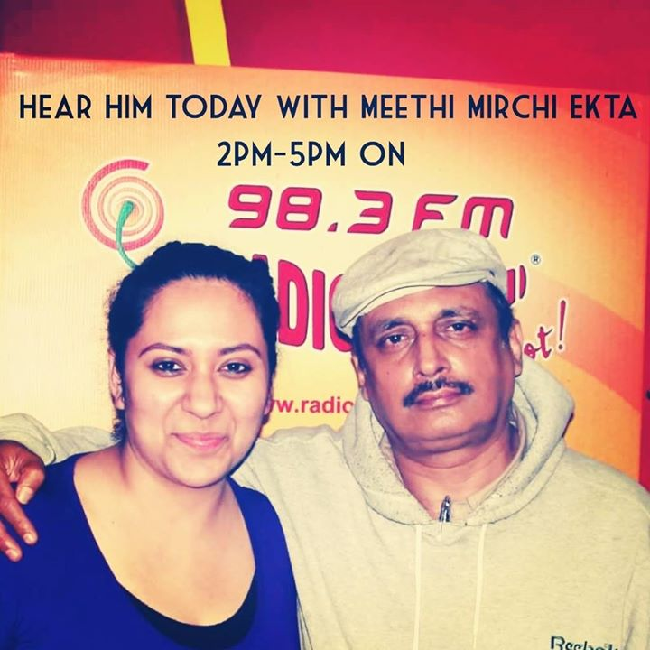 On the Show today ! Friday Funkaar Piyush Mishra :)