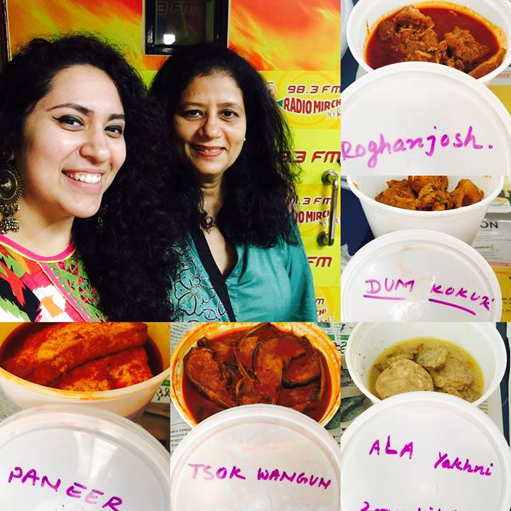 So people Authentic Kashmiri Cuisine in Amdavad ! One Meethi Mirchi Conversation with Founder & Chef @zoonkitchen Madhvi Parimoo on Radio Mirchi 98.3fm !! So much Kashmiri khanaaaa 😍😍