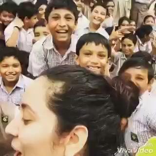 This morning Being a Mirchi Tree Idiot at S.H.Kharawala (A.G.school campus)