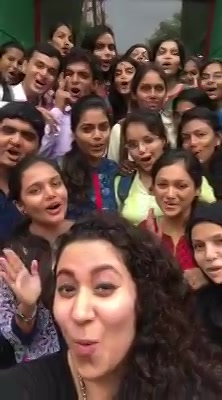 When LJ students Visit Mirchi 98.3