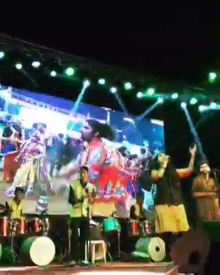 Aditya Gadhvi last Night at #mirchirockanddhol