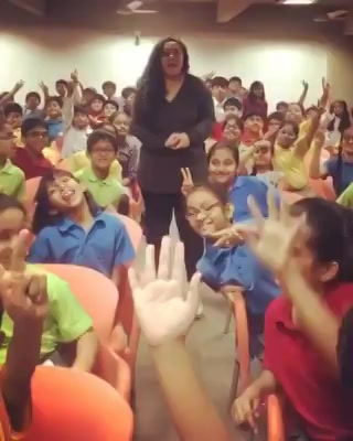One LOVE-ly morning Radio Session at Ahmedabad International School