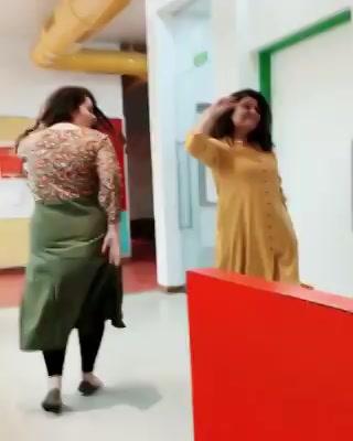 #beingradha The joy of dancing with Mirchi Ahmedabad Ki Radha @rjnehal Thank you @imtiazaliofficial @iamsrk @anushkasharma @redchilliesent