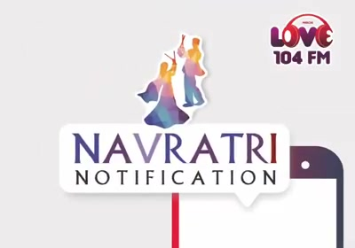 Whatsapp Conversations during Navratri. Presenting LOVE - Navratri-fied  On Mirchi Love 104   #navratri #mirchilove #notifications