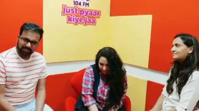 You have heard them and also read them.  This was when Ankit Trivedi & Bhumicka Trivedi were at Mirchi Love 104 studios recently.  A fun chat with them about their Election Ke Samay Life Partner ka Selection and their effort of bringing @premjoshua LIVE band for the first time in Ahmedabad On 17th Dec at Rajvadu.  If you're someone who wants a Healing Musical Experience this Sunday evening ??  DM me I will arrange invites for you.  @mitrayspiritual #bhumikatrivedi Ankit Trivedi