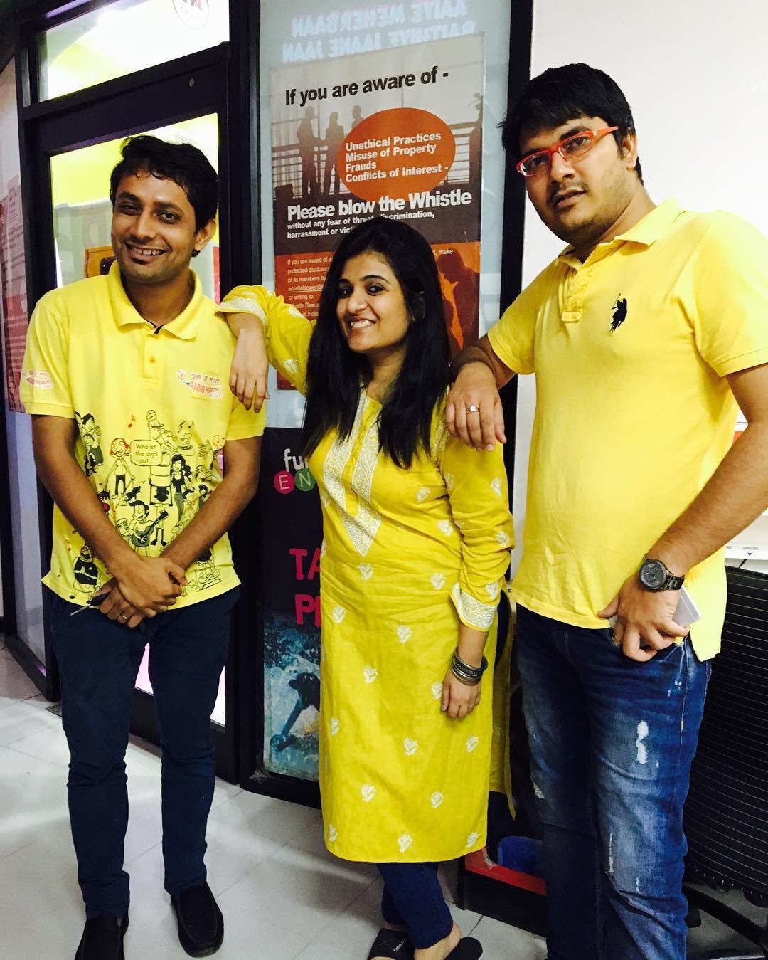 Yellow at Mirchi !