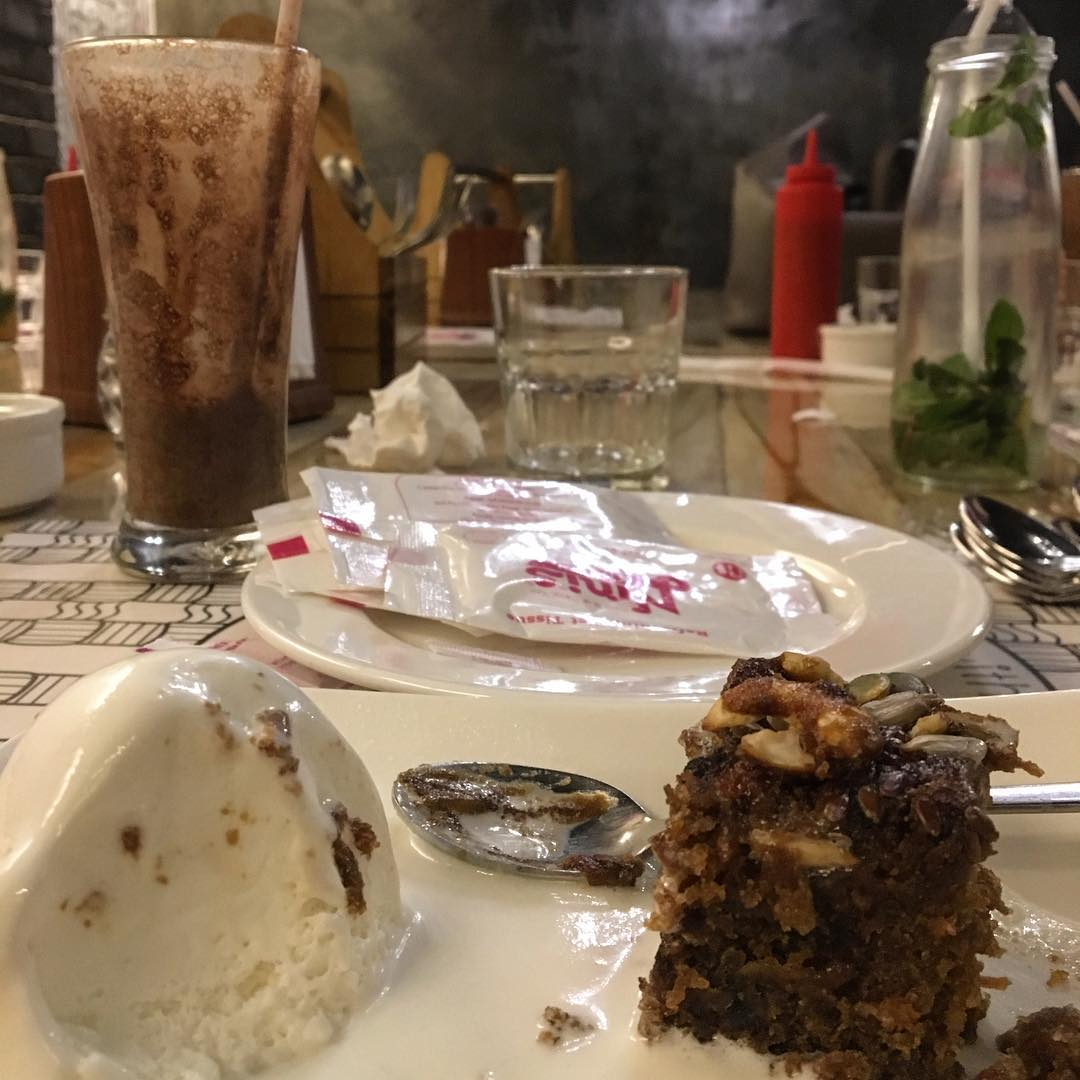 Consistently Loving ! Consistently Caring ! & Consistently Servicing Best ! They Serve Love on the plate.  @ninis.kitchen Your entire team is Fab ! One such name that genuinely knows how to win people and the battle of good food, together.  Btw Thank you for this Yum Carrot Cake 🍰♥️